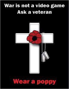 War is not a video game... Ask a veteran.