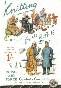 WWII knitting for the R.A.F. poster